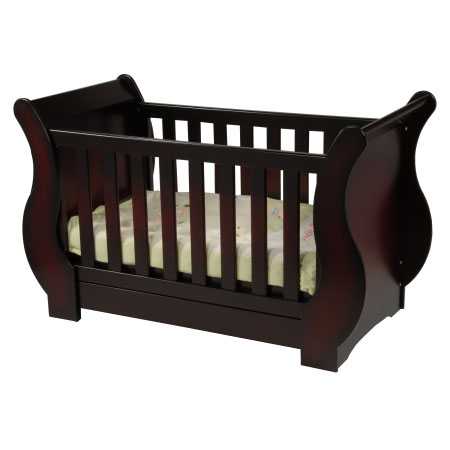 Baby boom sleigh bed bunk cot - Bunk cot beds for twins ...