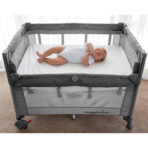 shipping ie solid free nursery sleeping naturalnursery including sleeper co have all harmful tested for and been mattress items beistellbett substances foam cot products ohne untreated certified natural beechwood bedside natur alles