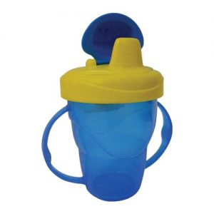 2 Handle Cup with Flip Lid