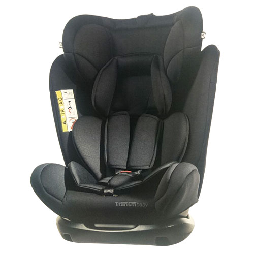 Titanium Baby Car Seat Black 0 36kg Grp 0 1 2 3