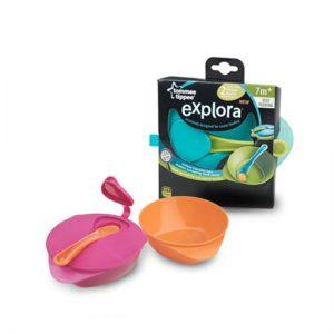 Explora Feeding Bowl with Lid