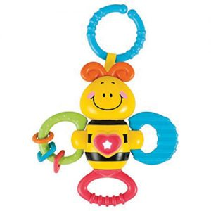 Light Up Twisty Rattle Bee
