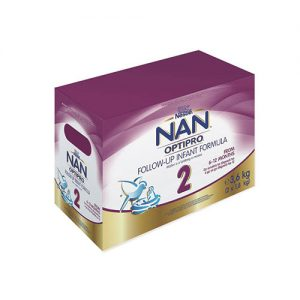 NAN Optipro Stage 2 Follow Up Infant Formula - 3.6kg