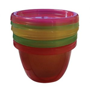 Snack Cup with Lids - 3pce