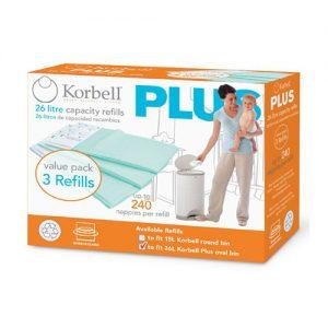 Korbell+ 3 Pack Refill