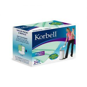 Korbell 3 Pack Refill