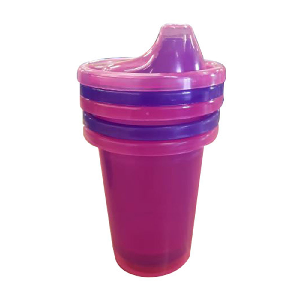 Baby Leo Cup Sipper 3pcs With Lids 220ml Baby Boom
