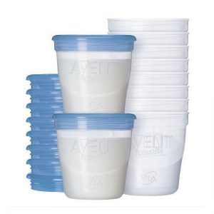 Breast Milk Storage Cups - 10pc