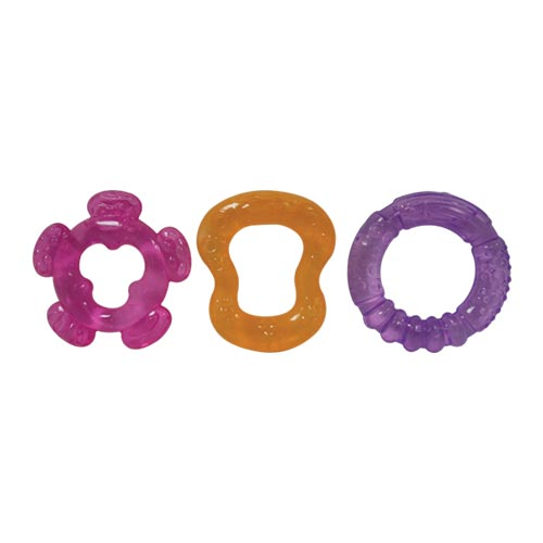 Waterfilled Teether 3pce