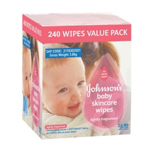 Wipes Lightly Fragranced 240's