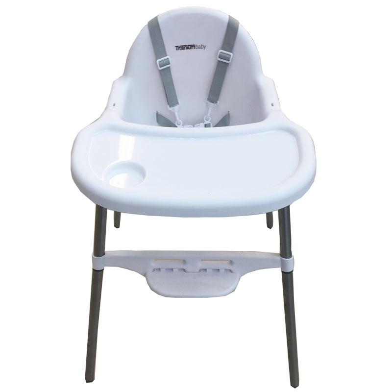 Titanium Baby High Chair Mini White Baby Boom