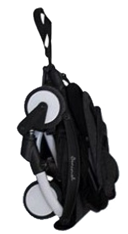 Banimal Compact Stroller Black Baby Boom