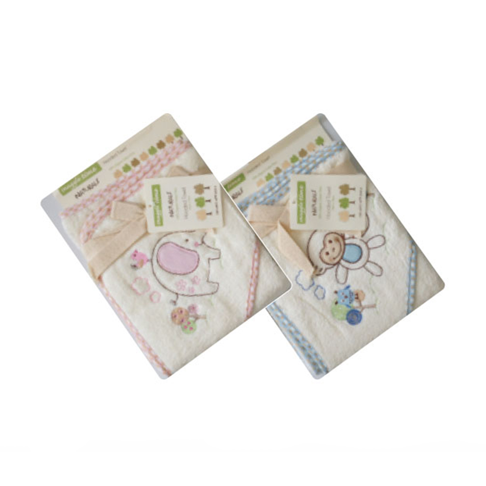 Snuggletime Hooded Towel Naturals Baby Boom