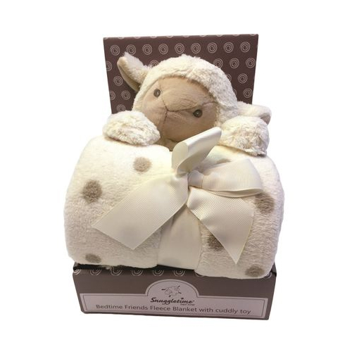 Snuggletime Fleece Blanket With Cuddly Toy Baby Boom