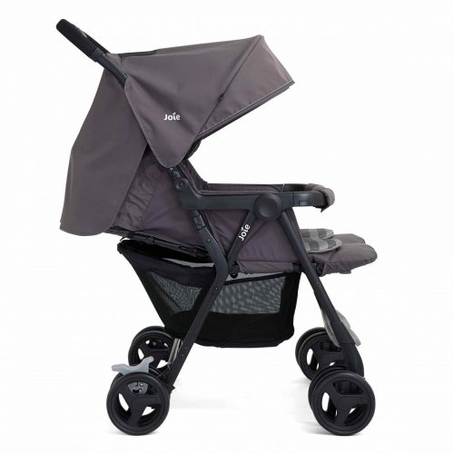 joie aire twin stroller pewter baby boom. Black Bedroom Furniture Sets. Home Design Ideas