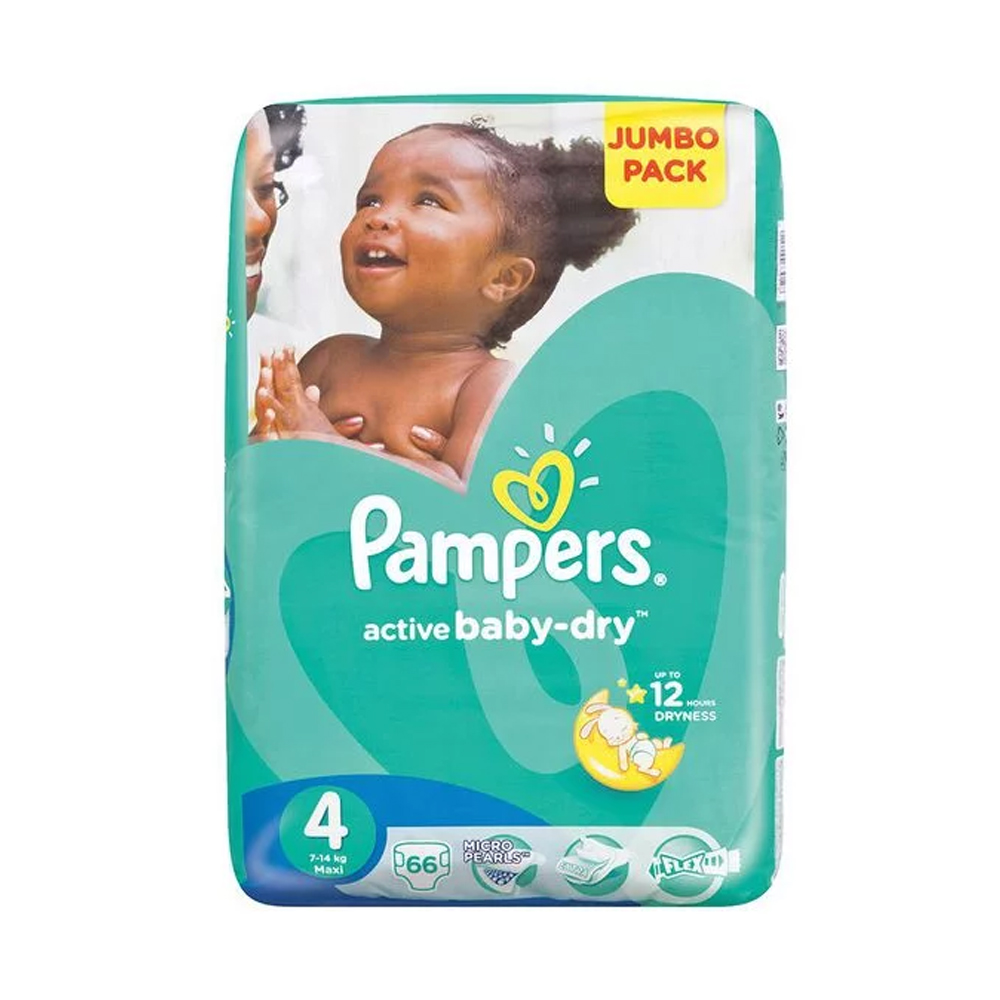 Pampers Active Baby Jumbo Pack Maxi 66 S Baby Boom