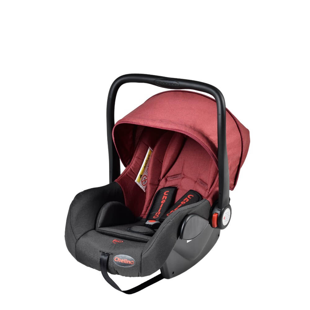 Chelino Boogie Car Seat Black And Meroon Baby Boom