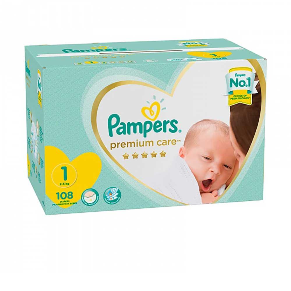 Pampers Premium Care Newborn 108 S Baby Boom