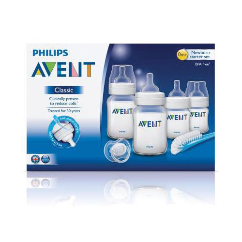 Avent Bottle Newborn Starter Set Pp Classic Plus Baby Boom