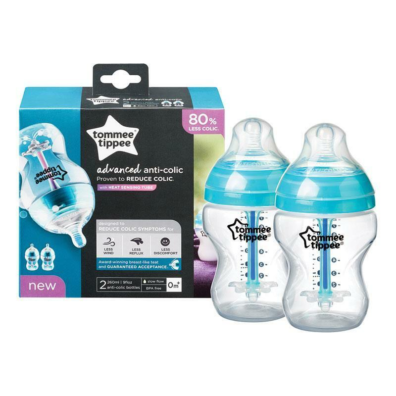Tommee Tippee Advanced Anti Colic 2 Pack Bottle 260ml