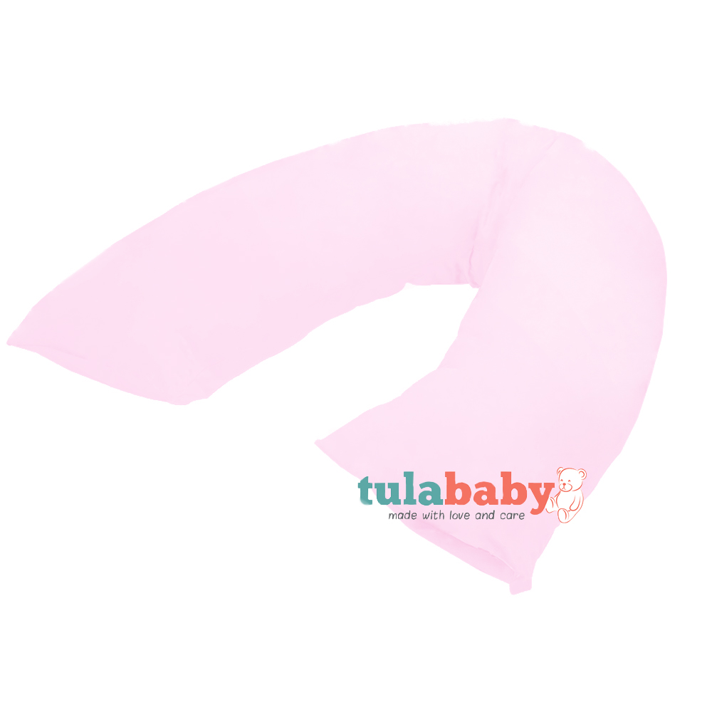 Tula Baby Maternity Roll Pillow Pink Print Baby Boom