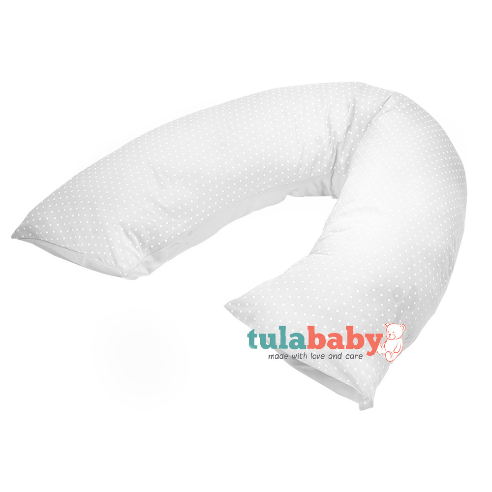 Tula Baby Maternity Roll Pillow Natural Print Baby Boom