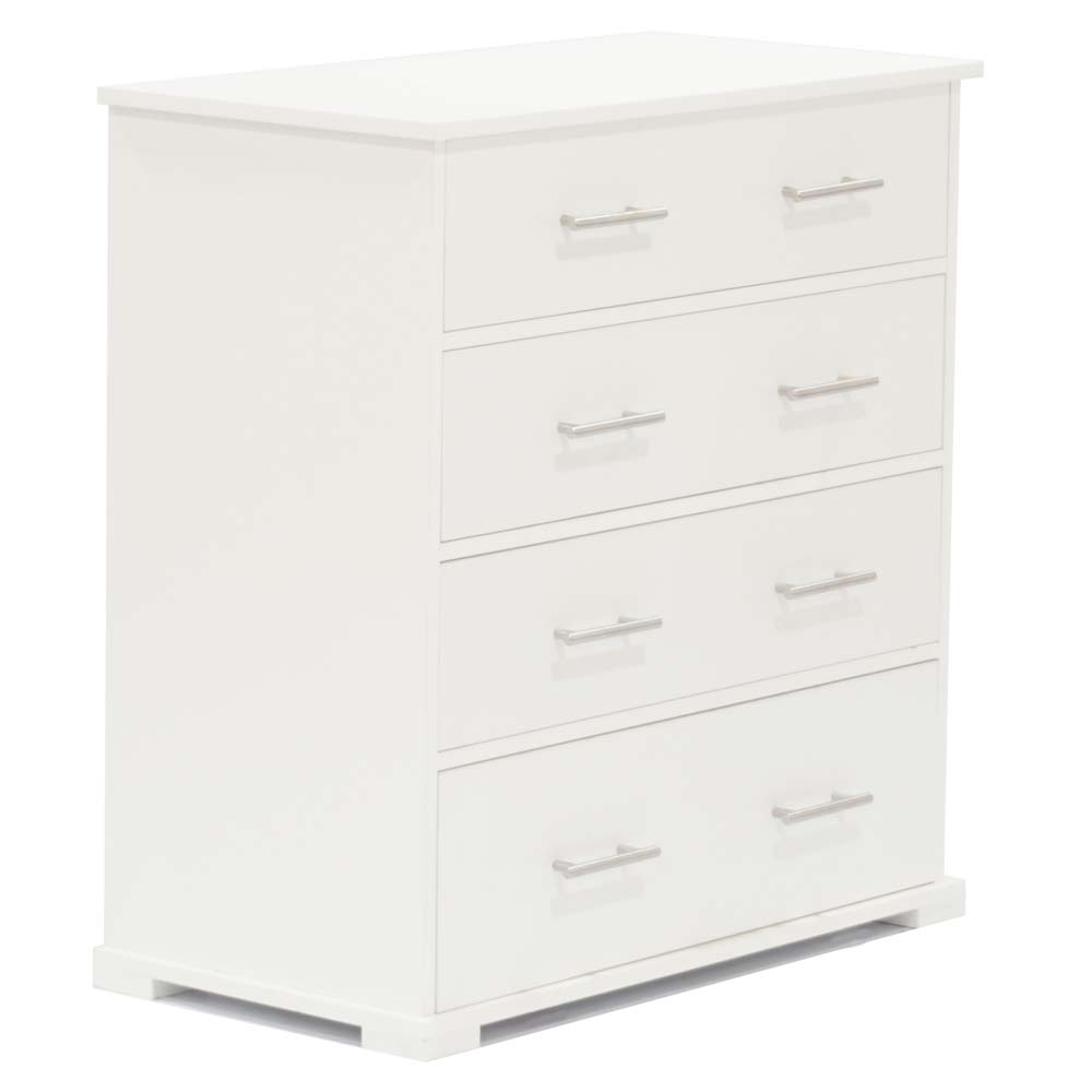 Ulale 4 Drawer Chest White Baby Boom