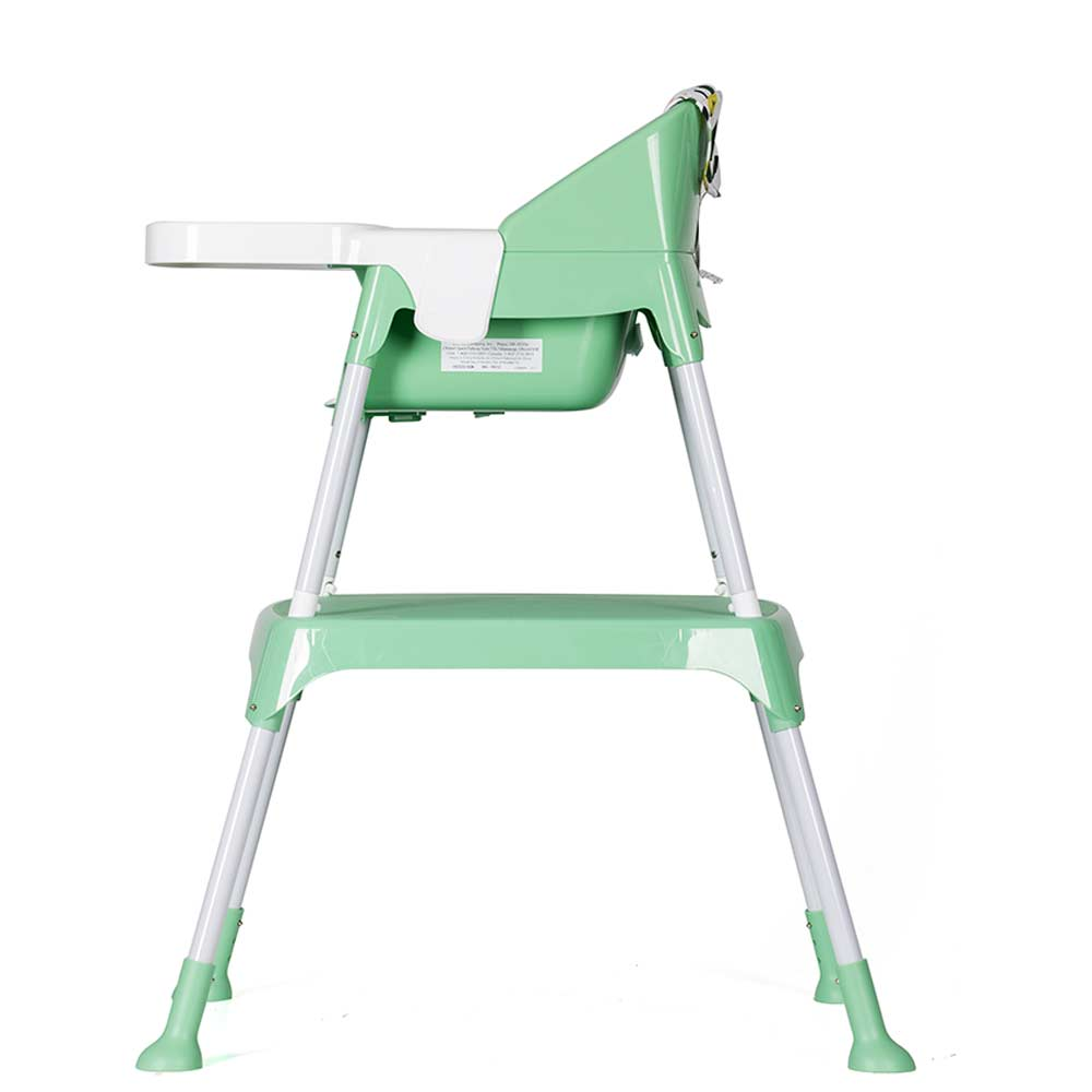 Evenflo Trillo 3in1 High Chair Green Baby Boom